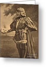 Sarah Bernhardt, French Actress Greeting Card