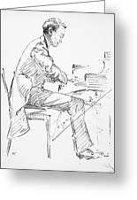 Sergei Rachmaninoff Greeting Card