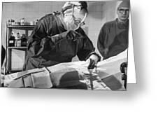 Silent Film Still: Doctor Greeting Card