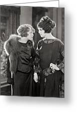 Silent Film Still: Women Greeting Card