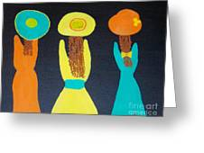 3 Sisters Greeting Card
