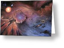 Starbirth Region, Artwork Greeting Card