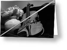 3 Strings #2 Greeting Card