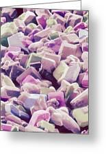 Sugar Crystals, Sem Greeting Card
