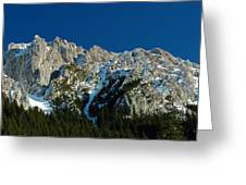 Tatra Mountains Winter Scenery Greeting Card