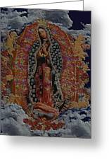 Virgin Of Guadalupe Greeting Card