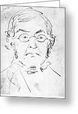 William M. Thackeray Greeting Card