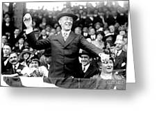 Woodrow Wilson (1856-1924) Greeting Card