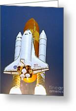 Space Shuttle Discovery Greeting Card