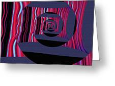 Twirling Greeting Card