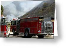 Barnett Fire Greeting Card
