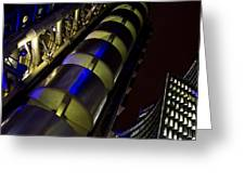 Lloyd's Building London  Greeting Card