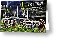 35530train Greeting Card