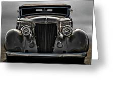 '36 Ford Convertible Coupe Greeting Card