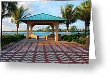 36- Palm Beach Inlet Greeting Card