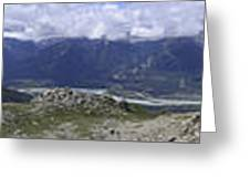 360 Roche Jacques Mountain Greeting Card