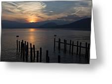 Lake Maggiore Greeting Card