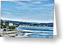 372 Hdr - Sunday At The Beach 1 Greeting Card