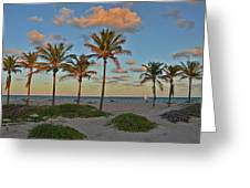 39- Evening In Paradise Greeting Card