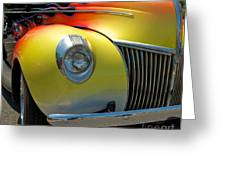 39 Ford Deluxe Hot Rod 3 Greeting Card