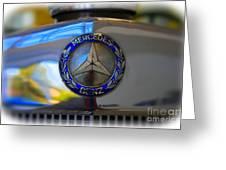 39 Mercedes-benz Logo Greeting Card