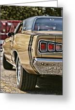 1968 Dodge Coronet Rt Greeting Card