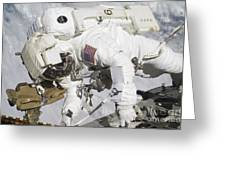 An Astronaut Participates In A Session Greeting Card