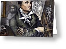 Antonio Canova (1757-1822) Greeting Card by Granger