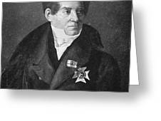 August Von Schlegel Greeting Card