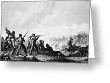 Battle Of Buena Vista Greeting Card