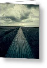 Boardwalk Greeting Card by Joana Kruse