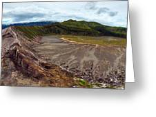 Bromo Crater Greeting Card