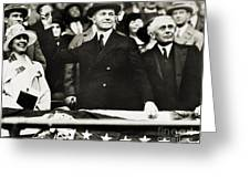 Calvin Coolidge (1872-1933) Greeting Card