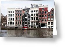 City Scenes From Amsterdam Greeting Card