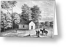 Civil War: Shiloh, 1862 Greeting Card