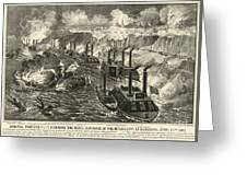 Civil War: Vicksburg, 1863 Greeting Card