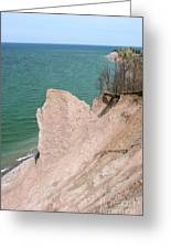 Coastal Erosion Greeting Card