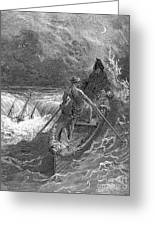 Coleridge: Ancient Mariner Greeting Card