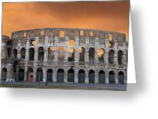 Colosseum. Rome Greeting Card