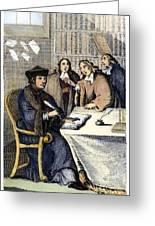 Desiderius Erasmus Greeting Card
