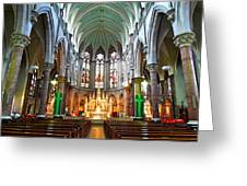 European Church Greeting Card