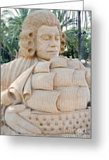 Fairytale Sand Sculpture  Greeting Card