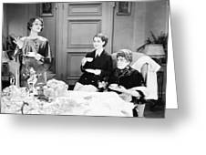 Film Still: Eating & Drinking Greeting Card