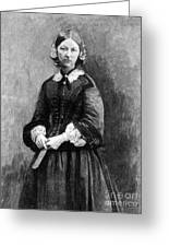 Florence Nightingale, English Nurse Greeting Card