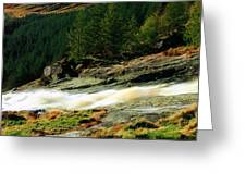 Glenmacnass Waterfall, Co Wicklow Greeting Card