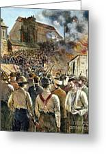 Homestead Strike, 1892 Greeting Card by Granger