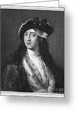 Horace Walpole (1717-1797) Greeting Card