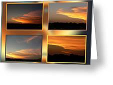 4 In 1 Sunsets Greeting Card