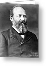James A. Garfield (1831-1881) Greeting Card