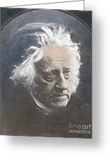 John Herschel, English Polymath Greeting Card